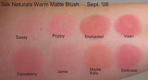 Blusheswarmmatte